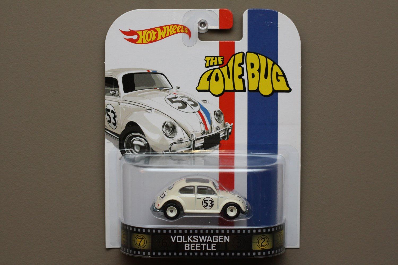 Hot Wheels 2014 Retro Entertainment Volkswagen Beetle (Herbie The Love Bug)