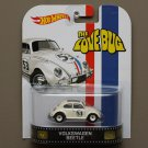 Hot Wheels 2014 Retro Entertainment Volkswagen Beetle (Herbie The Love Bug)