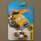 Hot Wheels 2017 HW Art Cars Cool-One (yellow - Kmart Excl.)