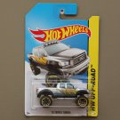 Hot Wheels 2014 HW Off-Road '10 Toyota Tundra (silver) (SEE CONDITION)