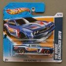 Hot Wheels 2012 HW Racing '08 Dodge Challenger SRT8 (blue)