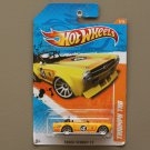 Hot Wheels 2011 Track Stars Triumph TR6 (yellow) (SEE CONDITION)