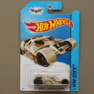 Hot Wheels 2014 HW City The Tumbler - Camouflage Version (Batman) (SEE CONDITION)