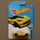 Hot Wheels 2017 Factory Fresh Corvette C7 Z06 (yellow)