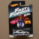 Hot Wheels 2017 Fast & Furious Nissan Skyline GT-R (R34) (SEE CONDITION)