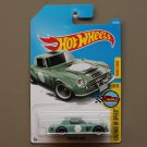Hot Wheels 2017 Legends Of Speed Datsun Fairlady 2000 (vintage green) (SEE CONDITION)