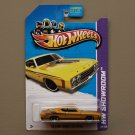 Hot Wheels 2013 HW Showroom '69 Ford Torino Talladega (gold)