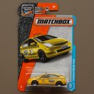Matchbox 2017 MBX Adventure City Toyota Prius Taxi (yellow)