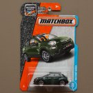 Matchbox 2017 MBX Adventure City '16 Fiat 500X (green)