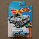Hot Wheels 2017 HW Hot Trucks '78 Dodge Li'l Red Express Truck (blue)