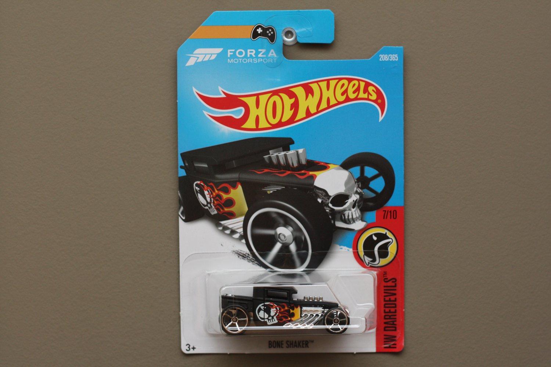 Hot Wheels 2017 HW Daredevils Bone Shaker (black)