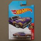Hot Wheels 2017 HW Flames '69 Ford Torino Talladega (purple)