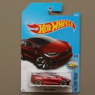 Hot Wheels 2017 Factory Fresh Tesla Model X (red)