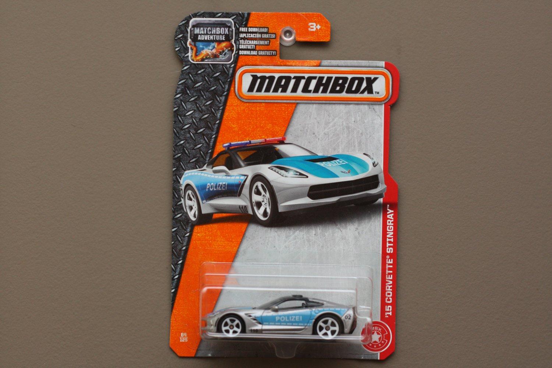 Matchbox 2017 MBX Heroic Rescue '15 Corvette Stingray (silver)