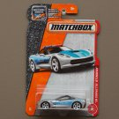 Matchbox 2017 MBX Heroic Rescue '15 Corvette Stingray (silver)