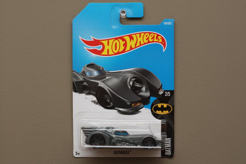 Hot Wheels 2017 Batman Batmobile (1989) (graphite)
