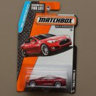 Matchbox 2015 MBX Adventure City Tesla Model S (red) (SEE CONDITION)