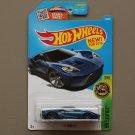 Hot Wheels 2016 HW Exotics '17 Ford GT (blue)