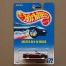 Hot Wheels 1991 Collector Series Mazda MX-5 Miata (burgundy)