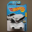 Hot Wheels 2017 Factory Fresh Custom Datsun 240Z (white) (Fugu Z) (SEE CONDITION)
