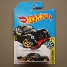 Hot Wheels 2017 HW Speed Graphics Volkswagen Kafer Racer (Beetle) (black)