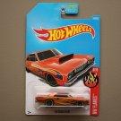 Hot Wheels 2017 HW Flames '68 Dodge Dart (orange)