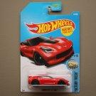 Hot Wheels 2017 Factory Fresh Corvette C7 Z06 (red)
