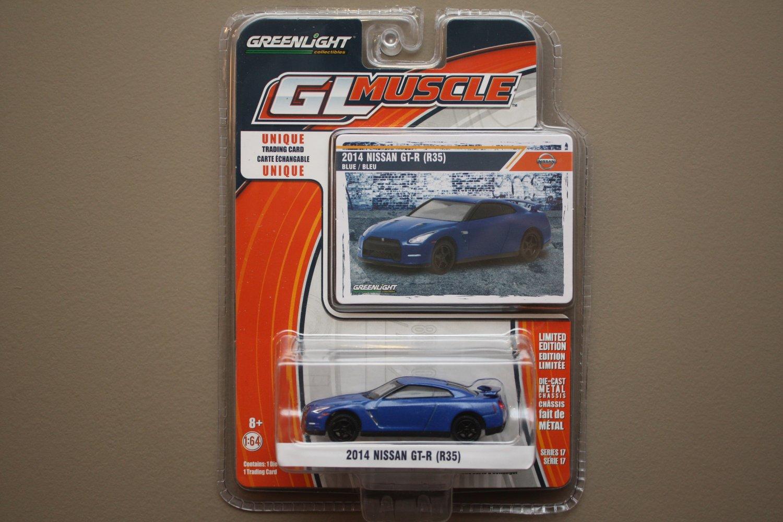 Greenlight GL Muscle Series 17 2014 Nissan GT-R (R35)