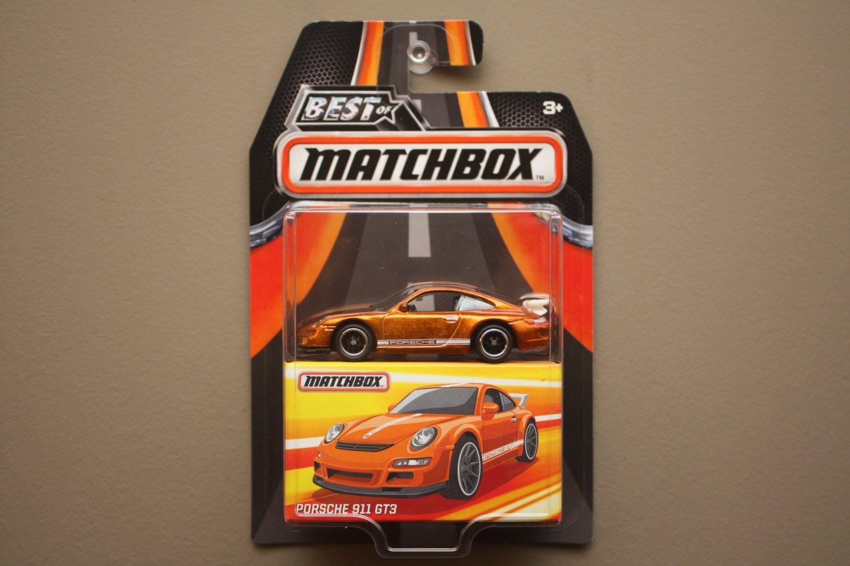 Matchbox 2017 Best Of Series Porsche 911 GT3
