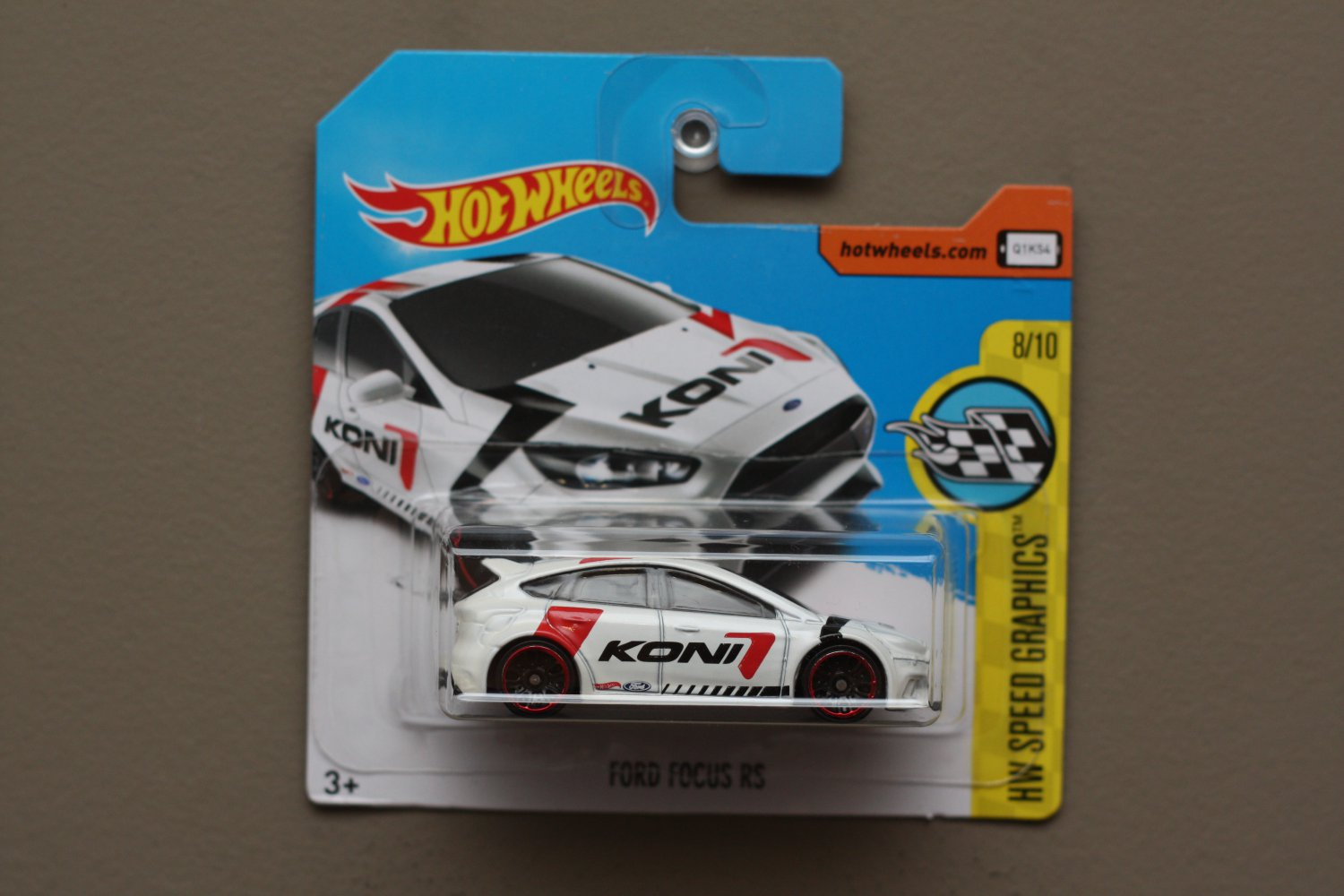 Hot Wheels 2017 HW Speed Graphics '16 Ford Focus RS (white)