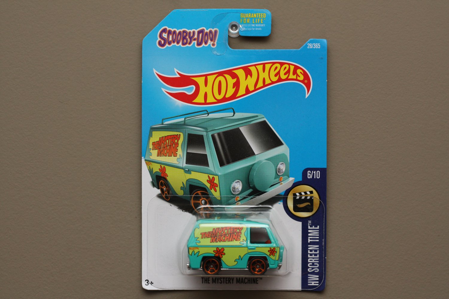 Hot Wheels 2017 HW Screen Time The Mystery Machine (Scooby Doo) (SEE CONDITION)