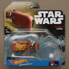 Hot Wheels 2017 Star Wars Ships Rey's Speeder