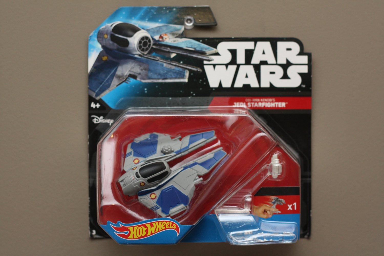 Hot Wheels 2015 Star Wars Ships Obi-Wan Kenobi's Jedi Starfighter (SEE CONDITION)