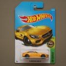 Hot Wheels 2017 HW Exotics '15 Mercedes Benz AMG GT (yellow)