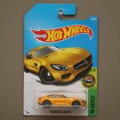 Hot Wheels 2017 HW Exotics '15 Mercedes Benz AMG GT (yellow) (SEE CONDITION)