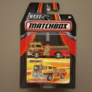 Matchbox 2016 Best Of Series '75 Mack CF Pumper Truck