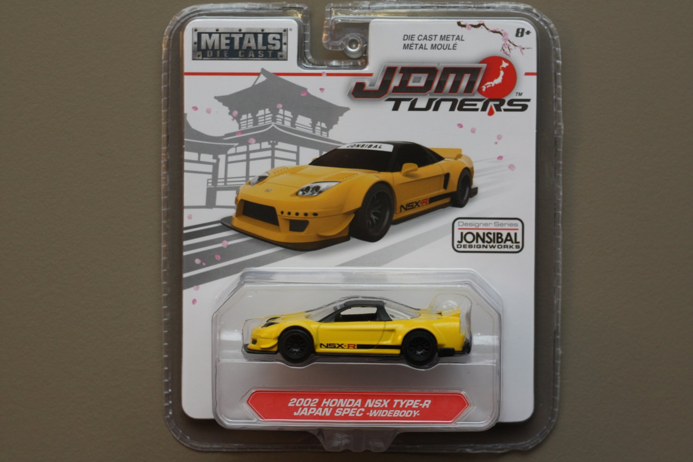 Jada Toys 2017 JDM Tuners '02 Honda NSX Type-R Japan Spec Widebody (Jonsibal)