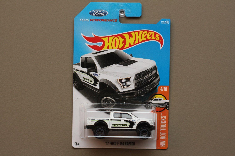 Hot Wheels 2017 HW Hot Trucks '17 Ford F-150 Raptor (white)