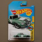 Hot Wheels 2017 Legends Of Speed Datsun Fairlady 2000 (vintage green)