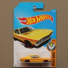 Hot Wheels 2017 Muscle Mania '69 Chevelle SS 396 (yellow)