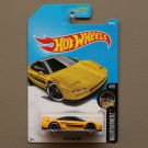 Hot Wheels 2017 Nightburnerz '90 Acura NSX (yellow)