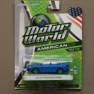 Greenlight Motor World Series 13 American Ed. '15 Chrysler 200S (Green Machine) (SEE CONDITION)