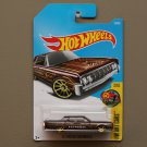 Hot Wheels 2017 HW Art Cars '64 Lincoln Continental (brown)
