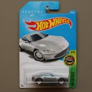 Hot Wheels 2017 HW Exotics Aston Martin DB10 (grey) (Spectre 007) (SEE CONDITION)