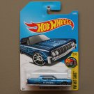 Hot Wheels 2017 HW Art Cars '64 Lincoln Continental (blue)