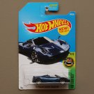 Hot Wheels 2017 HW Exotics '17 Pagani Huayra Roadster (blue) (SEE CONDITION)