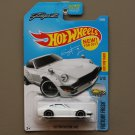 Hot Wheels 2017 Factory Fresh Custom Datsun 240Z (white) (Fugu Z)