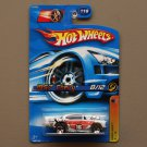 Hot Wheels 2006 Track Aces '57 Chevy (white) (Faster Than Ever)