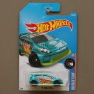 Hot Wheels 2017 HW Race Team '12 Ford Fiesta (teal)