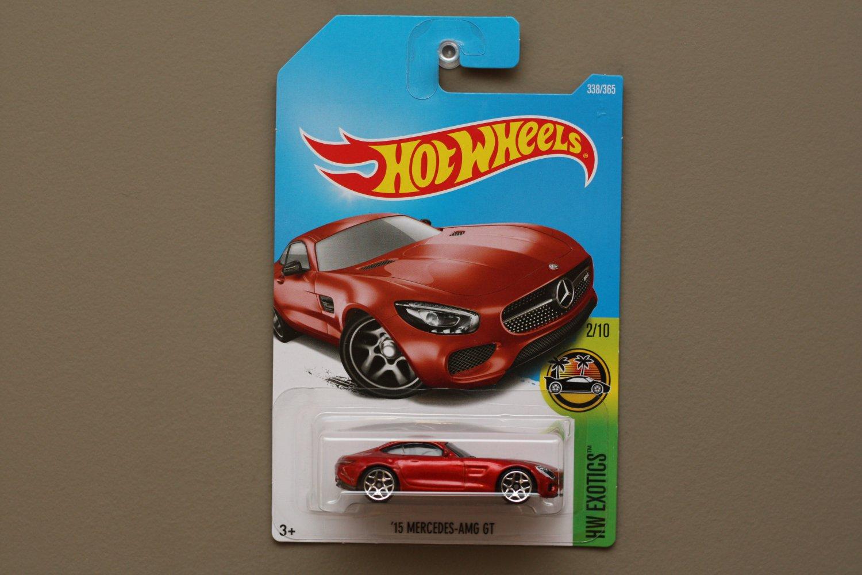 Hot wheels 2017 hw exotics 39 15 mercedes benz amg gt dark for Hot wheels mercedes benz